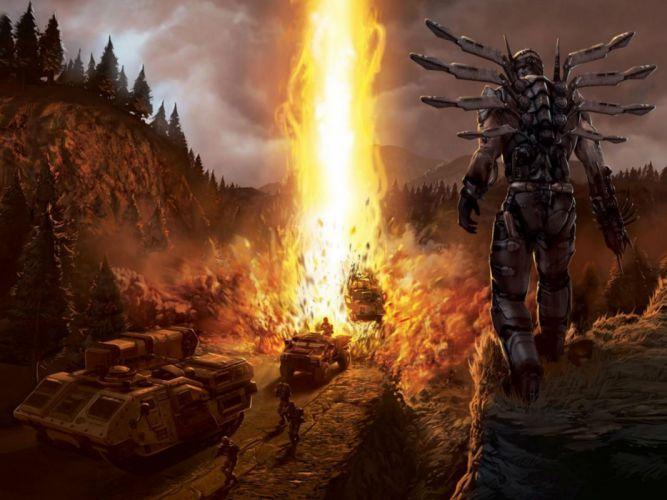 QUAKE sci-fi shooter fps action fighting dark 1quake f wallpaper