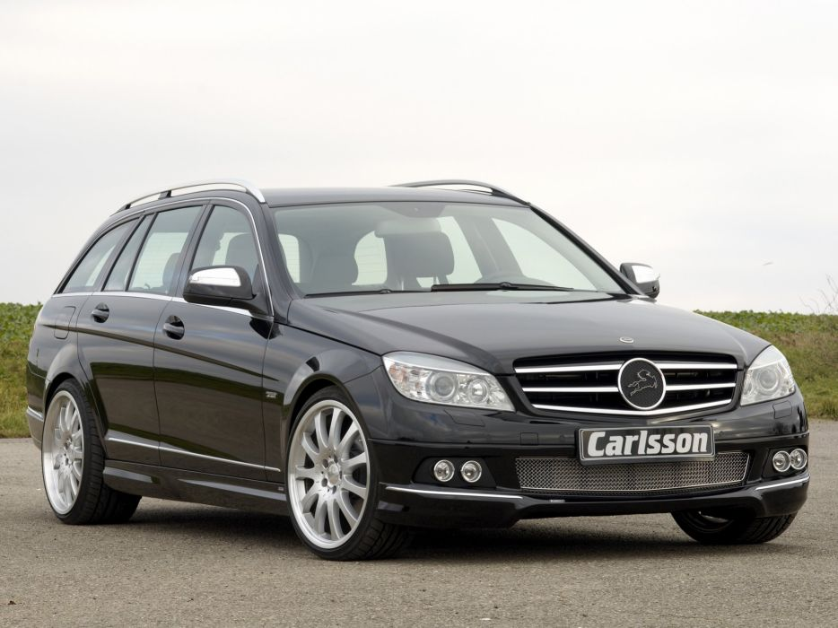 Carlsson Mercedes-Benz C-Klasse Estate (S204) modified 2008 wallpaper