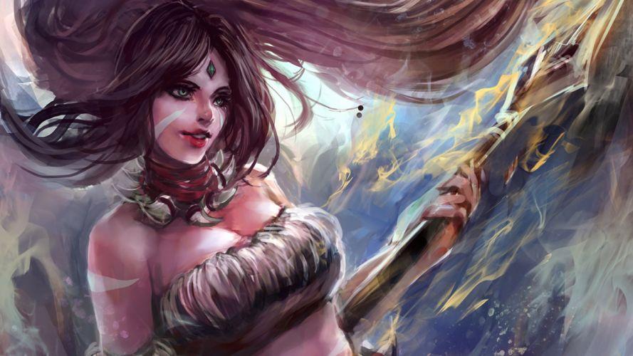 LEAGUE Of LEGENDS fantasy magic artwork f wallpaper