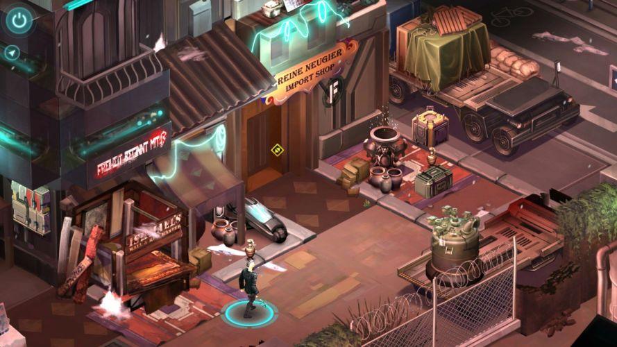 SHADOWRUN cyberpunk sci-fi fantasy mmo rpg online action fighting warrior 1shadowr futuristic city cities wallpaper
