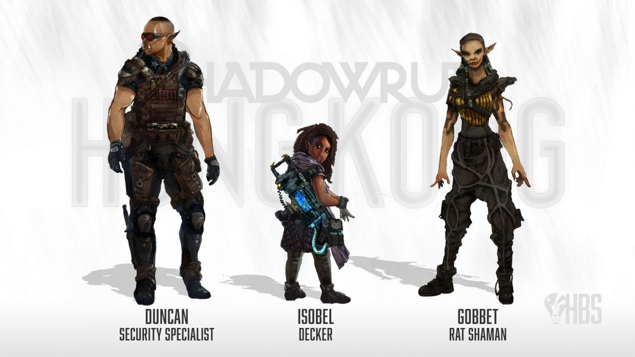 SHADOWRUN cyberpunk sci-fi fantasy mmo rpg online action fighting warrior 1shadowr futuristic poster wallpaper