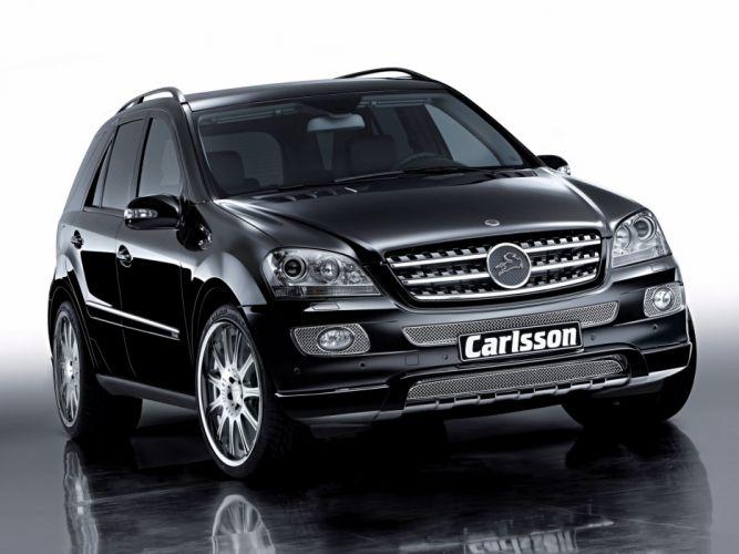Carlsson ML 350 CDI cars mercedes modified wallpaper