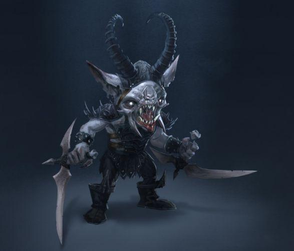 SHADOW REALMS fantasy mmo rpg sci-fi magic 1srealms action fighting dark artwork monster creature wallpaper