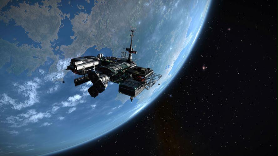 ELITE DANGEROUS sci-fi spaceship mmo rpg online futuristic space artwork adventure simulator action fighting g wallpaper