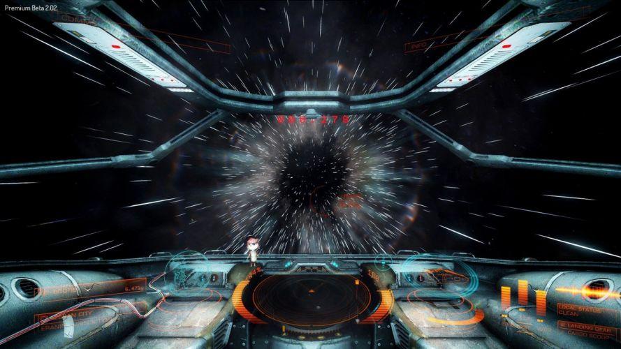 ELITE DANGEROUS sci-fi spaceship space futuristic simulator artwork action adventure mmo online rpg d wallpaper