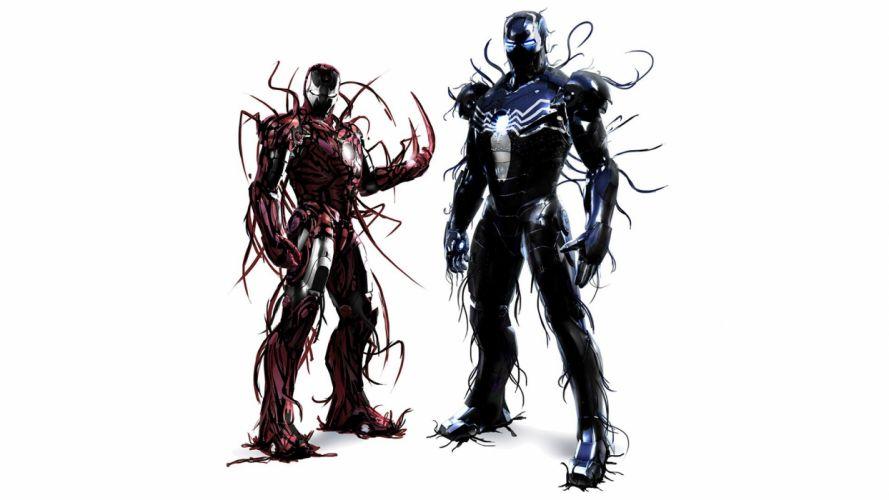 Iron man Symbiot wallpaper