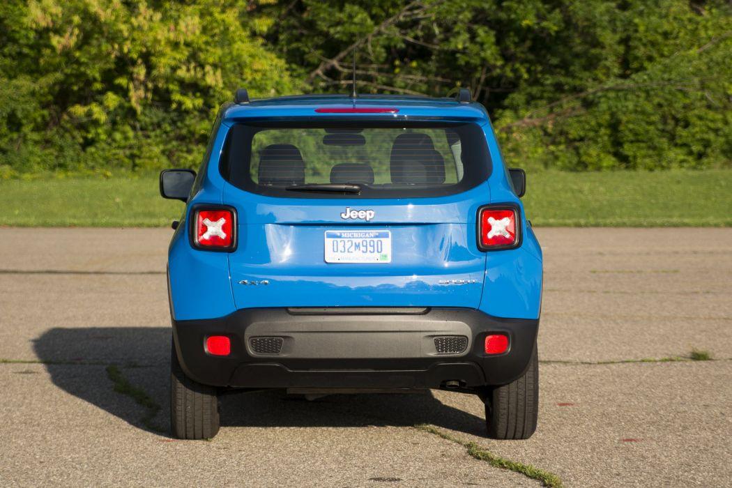 2015 Jeep Renegade Sport suv cars wallpaper