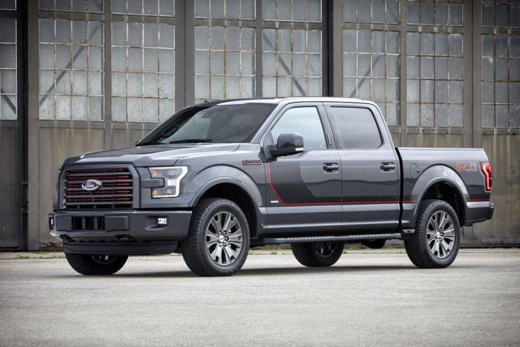 2016 Ford F-150 pickup truck cars us-version wallpaper