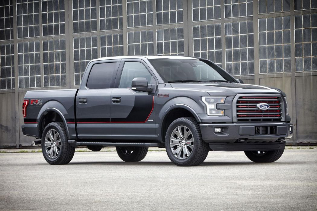 2016 Ford F-150 pickup truck cars us-version wallpaper