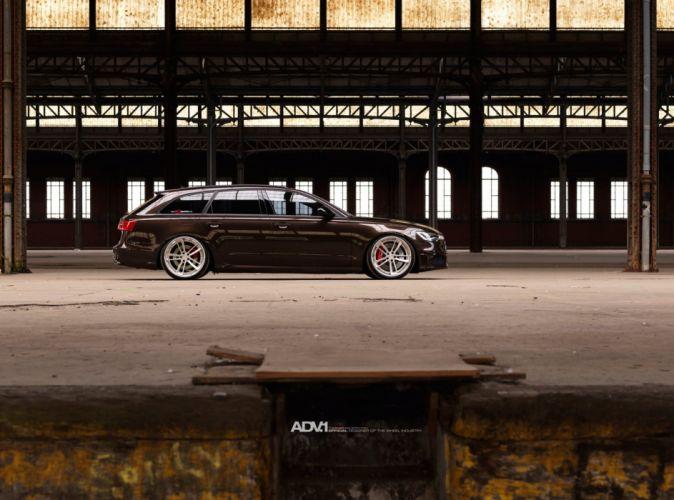 ADV 1 WHEELS GALLERY AUDI-A6 AVANT wagon cars tuning wallpaper