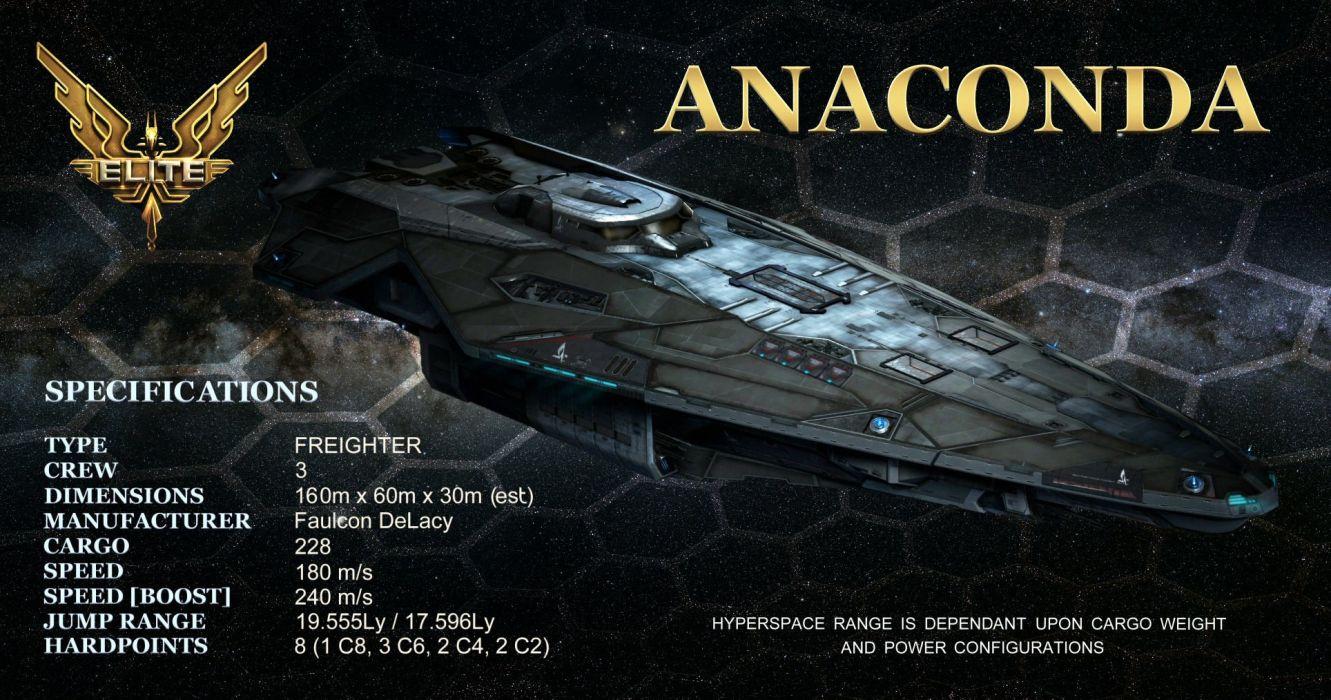 Elite Dangerous Sci Fi Spaceship Space Futuristic Simulator Artwork