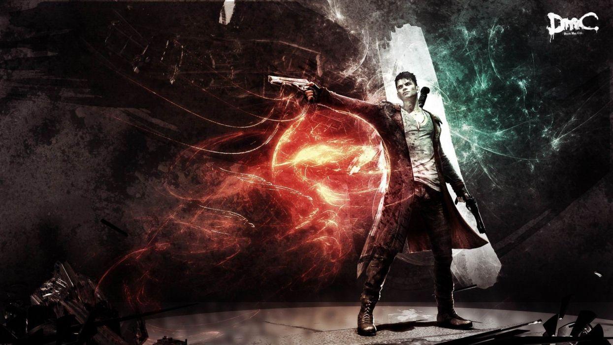 DEVIL MAY CRY dmc fantasy action adventure fighting warrior martial arts f wallpaper