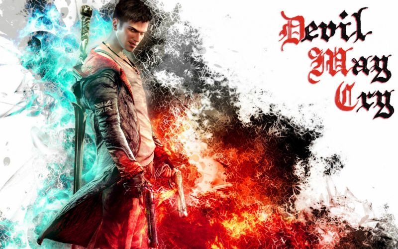 DEVIL MAY CRY dmc fantasy action adventure fighting warrior martial arts poster wallpaper