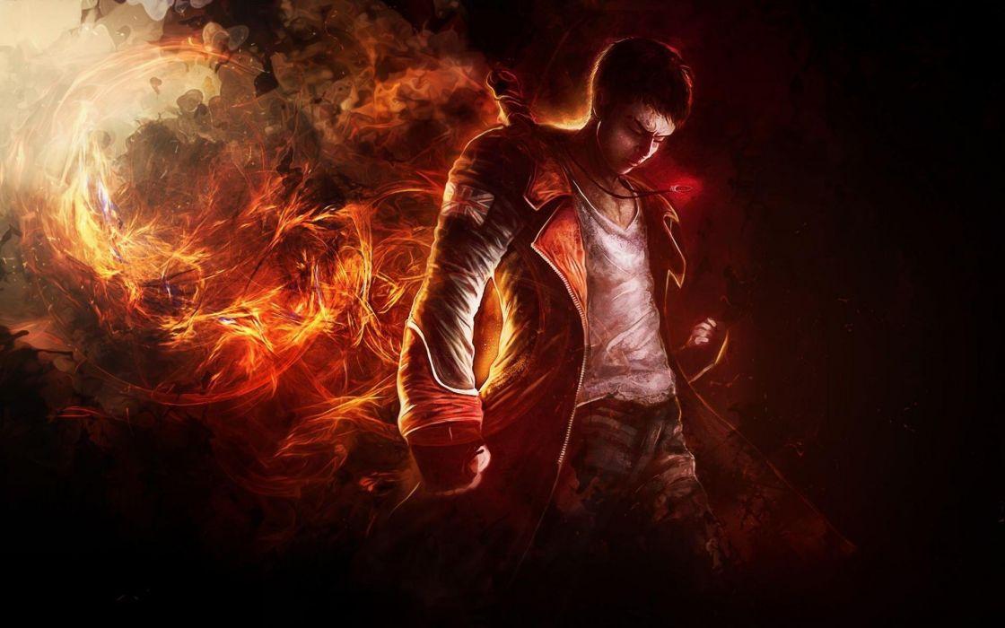 DEVIL MAY CRY dmc fantasy action adventure fighting warrior martial arts wallpaper
