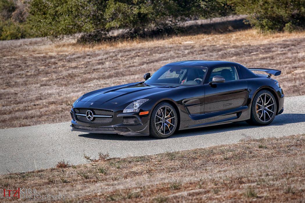 Mercedes Benz SLS Black Series cars coupe wallpaper