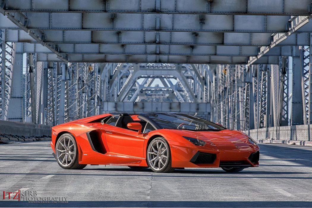 Lamborghini Aventador Roadster cars wallpaper