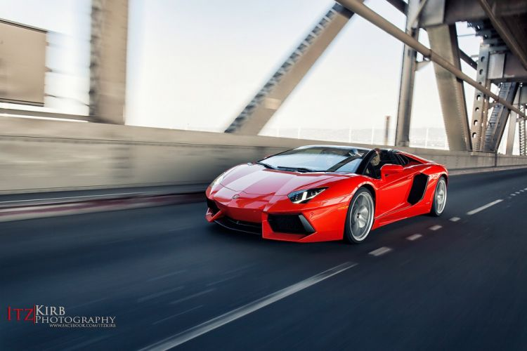 Lamborghini Aventador Roadster cars supercars wallpaper