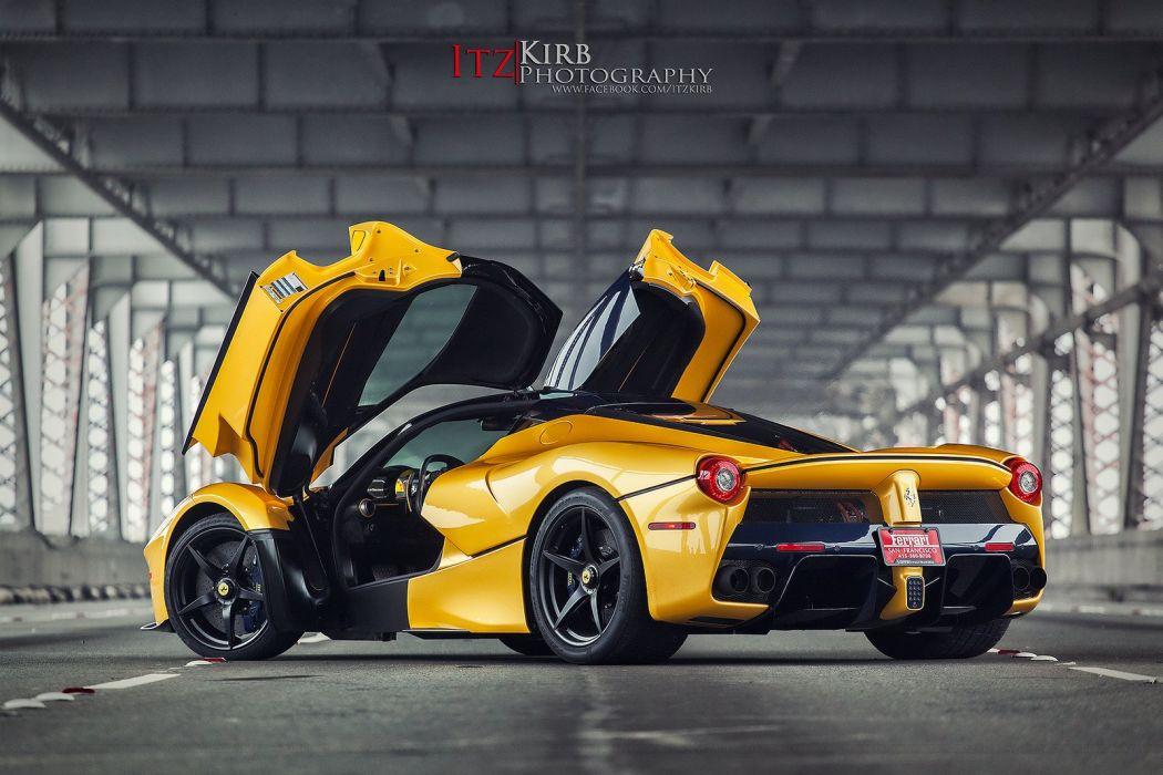 Ferrari LaFerrari cars supercars wallpaper