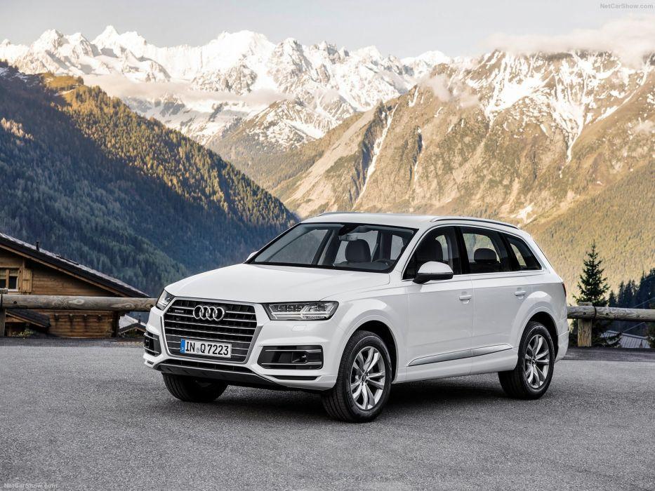 Audi-Q7 cars suv 2016 wallpaper