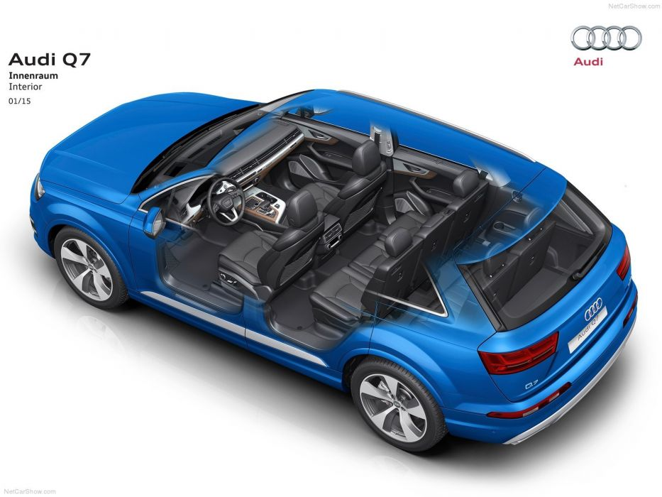 Audi-Q7 cars suv 2016 cutaway wallpaper
