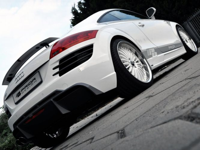 Prior-Design Audi TT Coupe cars modified 2010 wallpaper