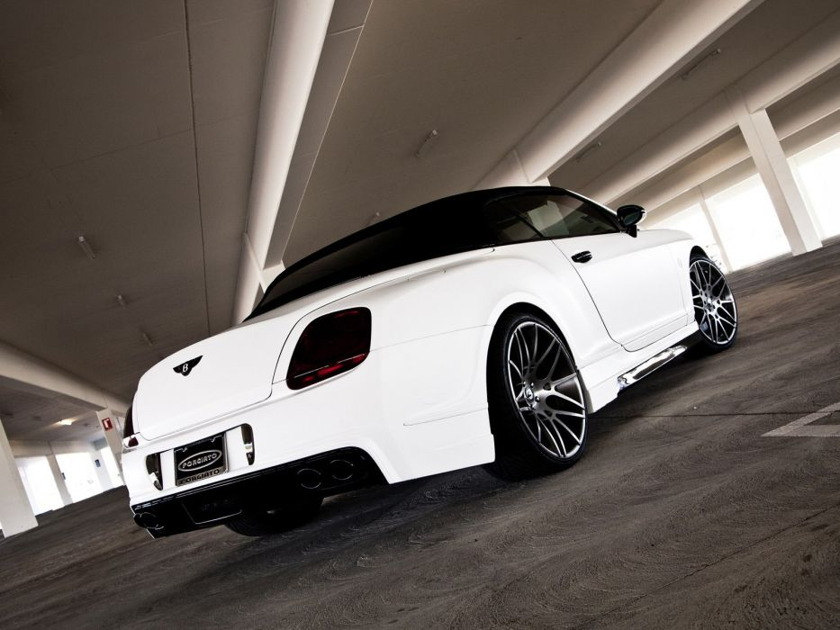 Prior-Design Bentley Continental-GT Cabriolet cars modified 2011 wallpaper