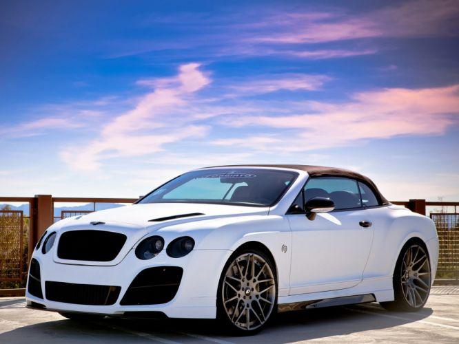 Prior-Design Bentley Continental-GT Cabriolet cars modified 2011 wallpaper