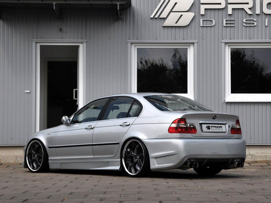 Prior-Design BMW 3-Series Sedan cars modified (E46) wallpaper