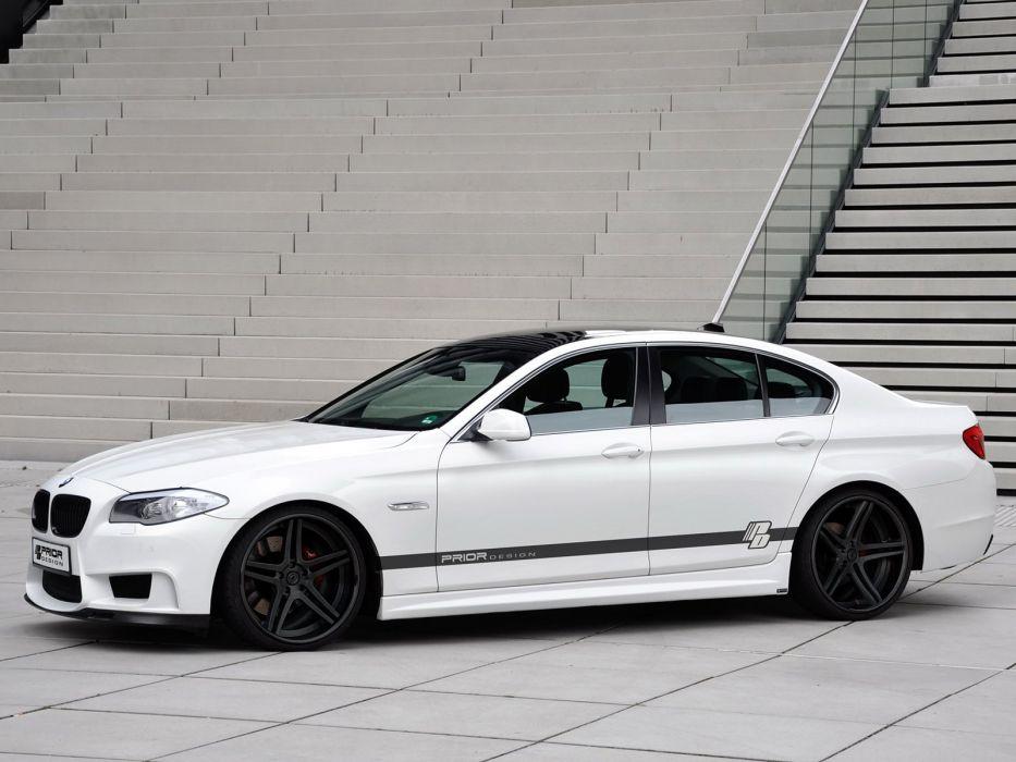 Prior-Design BMW 5-Series Sedan (F10) cars modified 2011 wallpaper
