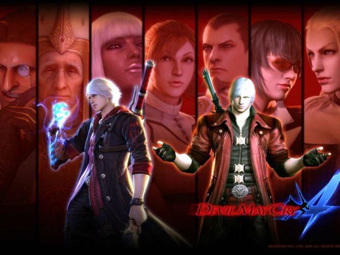 DEVIL MAY CRY dmc fantasy action adventure fighting warrior martial arts poster f wallpaper