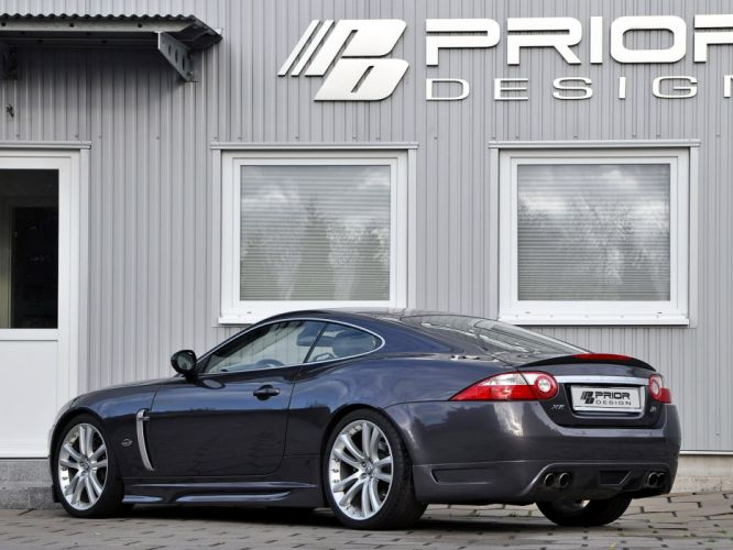 Prior-Design Jaguar XKR Coupe cars modified 2009 wallpaper