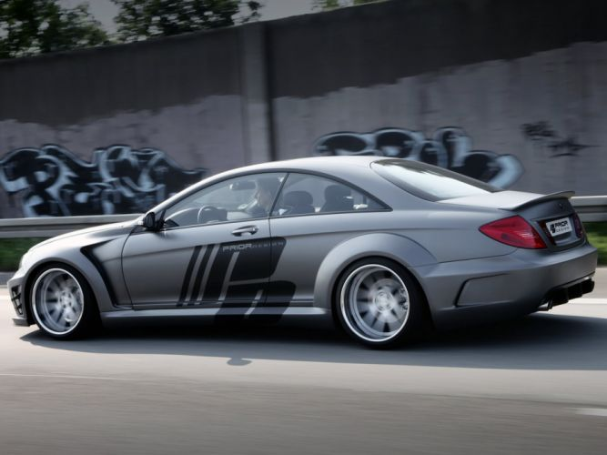 Prior-Design Mercedes-Benz CL-Klasse Black Edition (C216) cars modified 2012 wallpaper