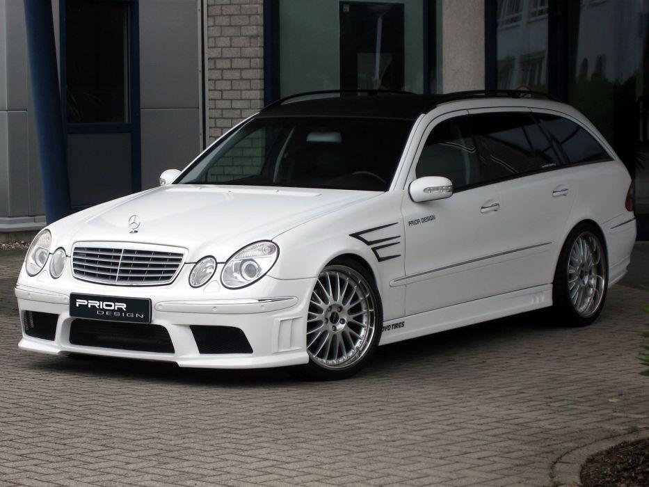 Prior-Design Mercedes-Benz E-Klasse Estate (S211) cars modified 2008 wallpaper