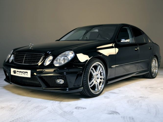Prior-Design Mercedes-Benz E-Klasse PD65 (S211) cars modified 2009 wallpaper