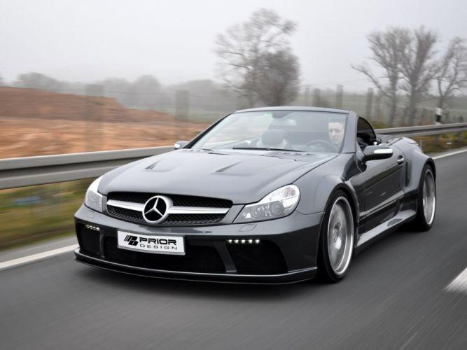 Prior-Design Mercedes-Benz SL-Klasse Black Edition (R230) cars modified 2011 wallpaper