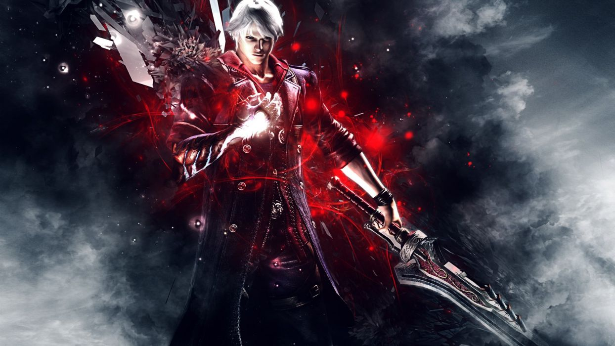 DEVIL MAY CRY dmc fantasy action adventure fighting warrior martial arts wallpaper