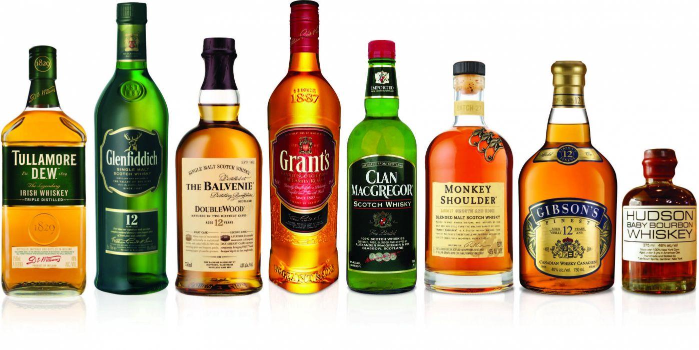 botellas de whisky wallpaper