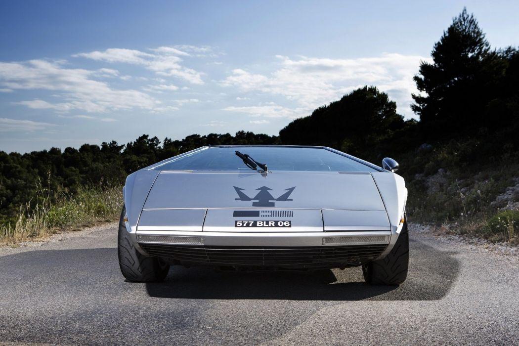 Maserati Boomerang concept cars 1972 wallpaper