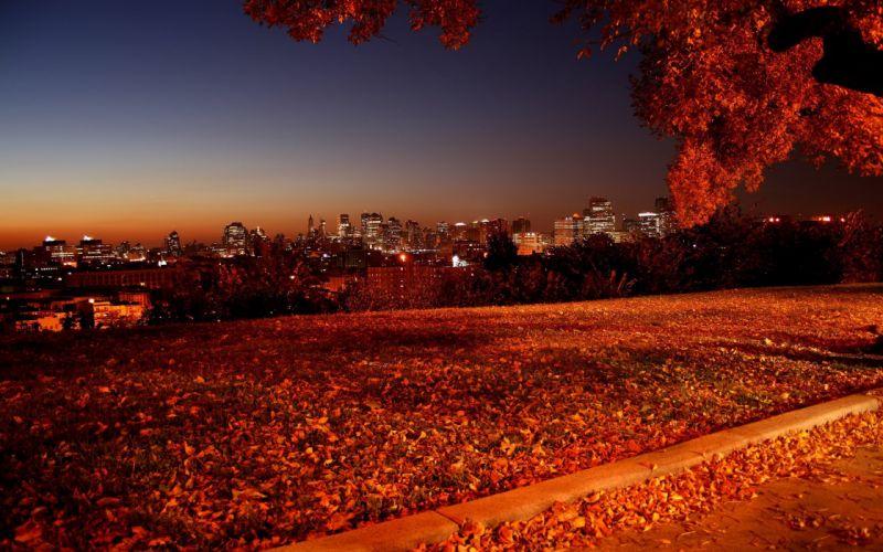 landscape beauty nature city light wallpaper