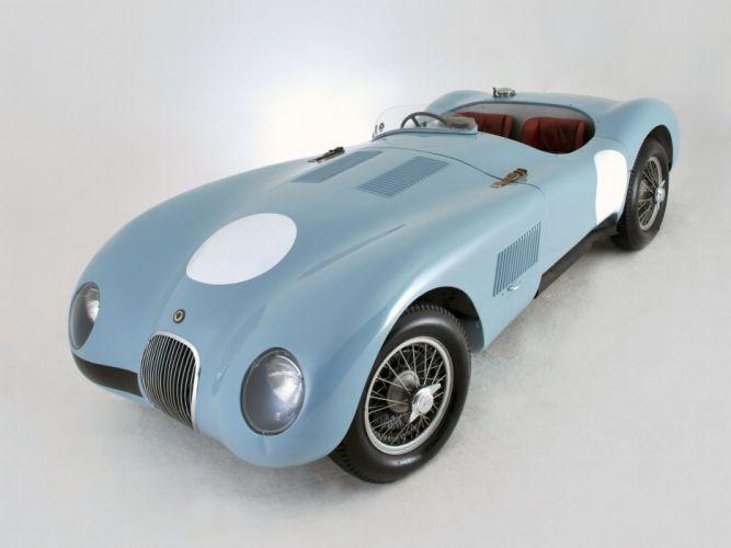Jaguar C-Type 1952 cars racecars classic wallpaper