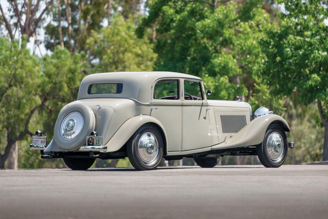 Bentley 3 Az Litre Sports Saloon Park Ward classic cars 1934 wallpaper