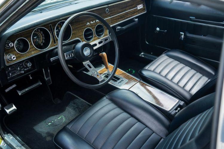 1970 AMC AMX coupe cars wallpaper