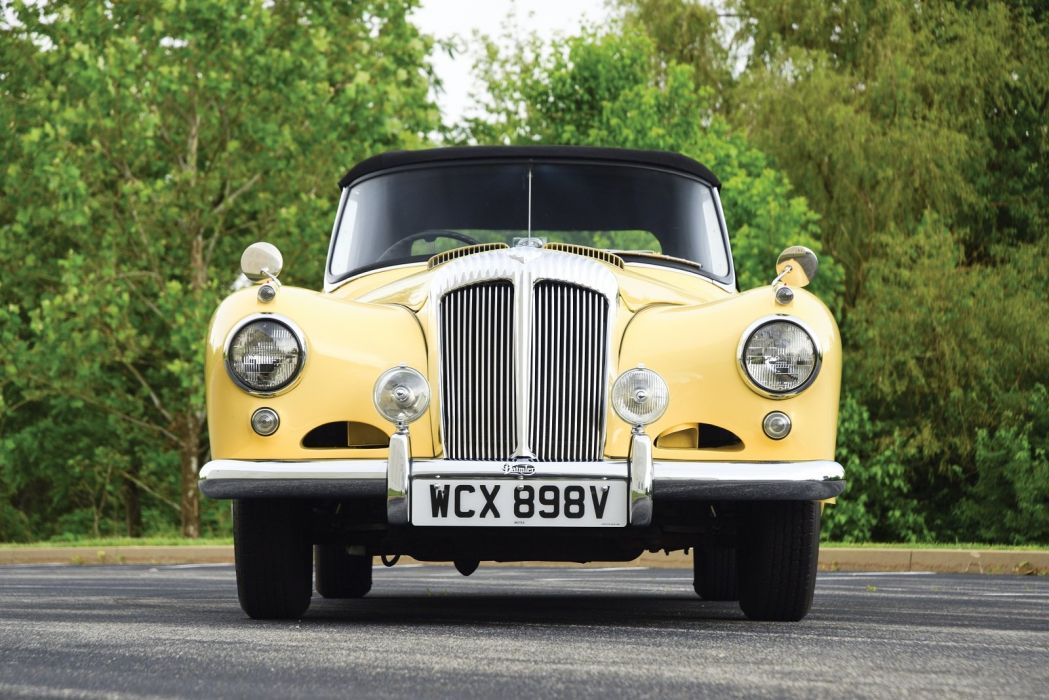 1953 Daimler Conquest Roadster classic cars wallpaper