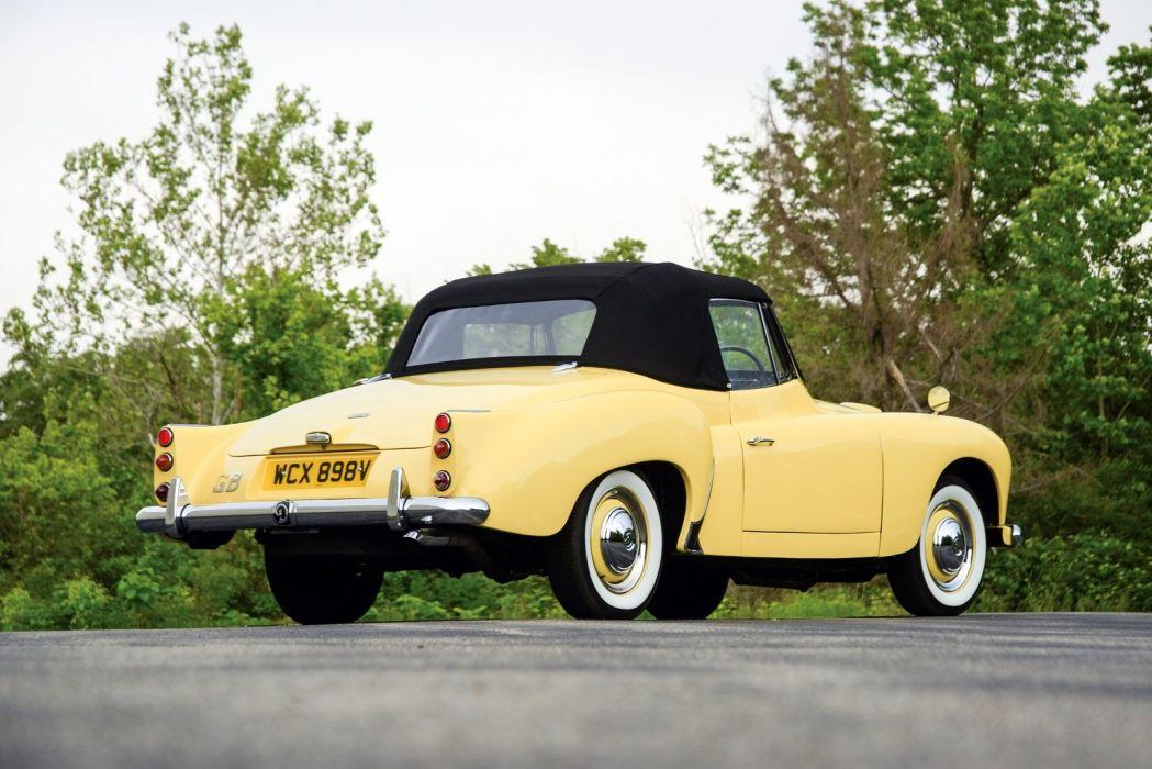 1953 Daimler Conquest Roadster classic cars wallpaper