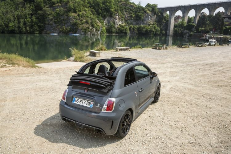 Abarth fiat 595C Competizione cars 2012 wallpaper