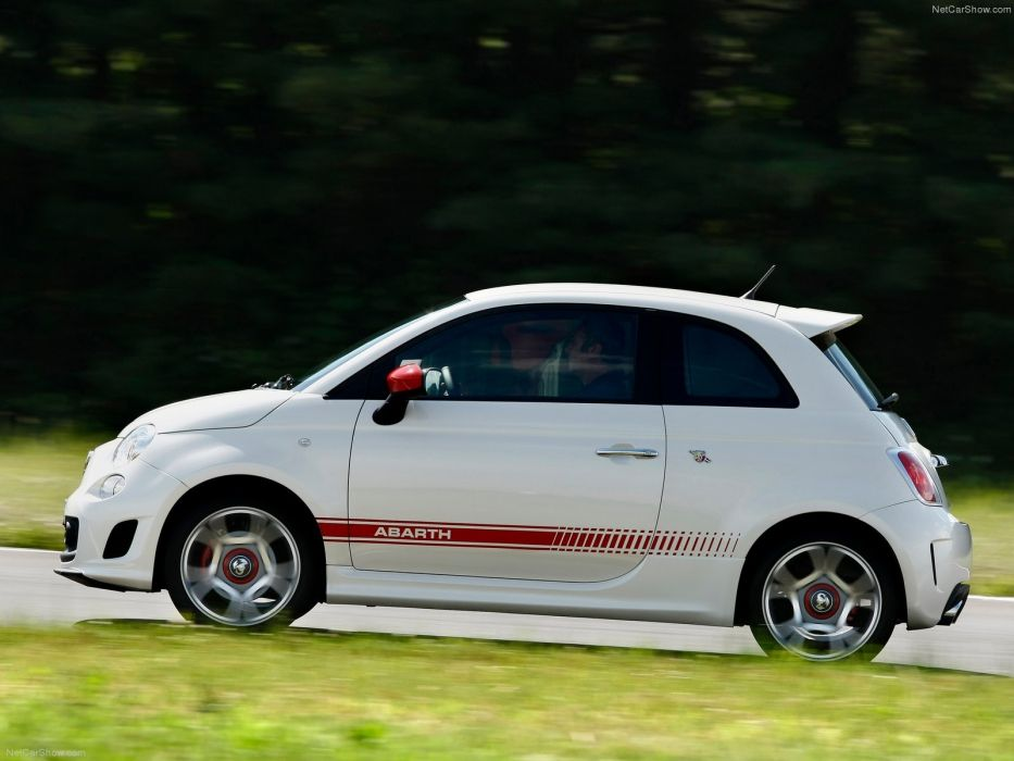 Fiat 500 Abarth cars 2009 wallpaper