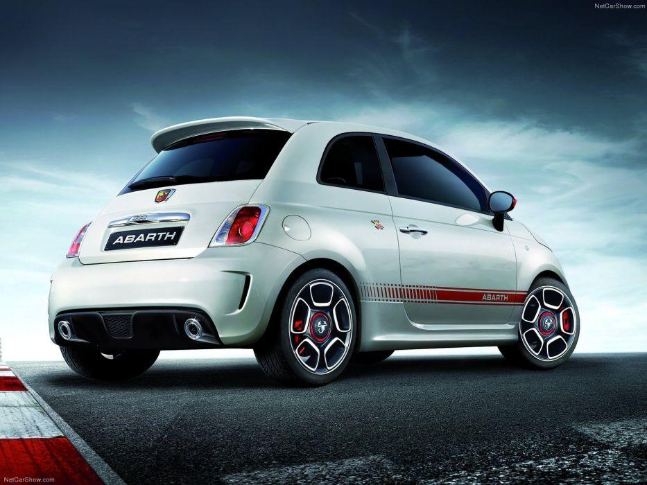 Fiat 500 Abarth cars 2009 wallpaper