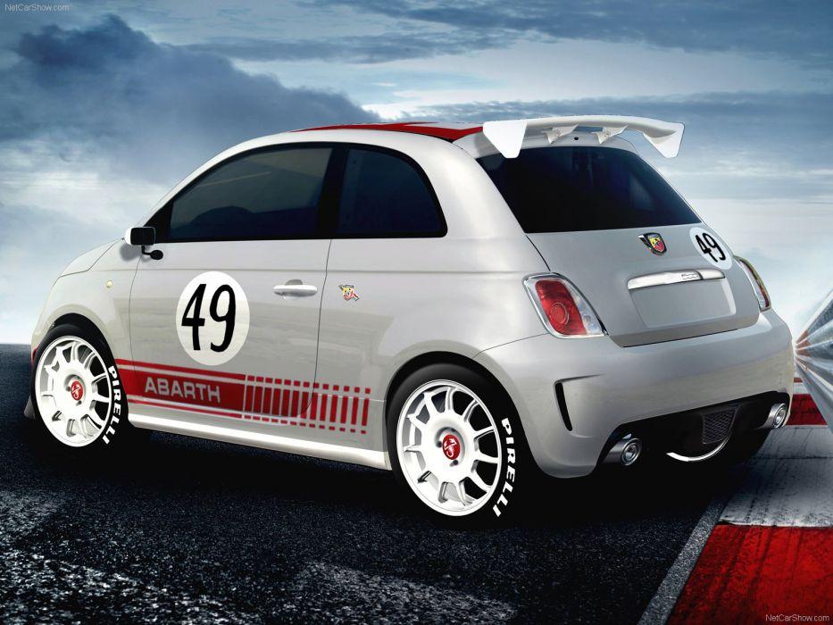 2009 500 Abarth assetto corse Fiat wallpaper