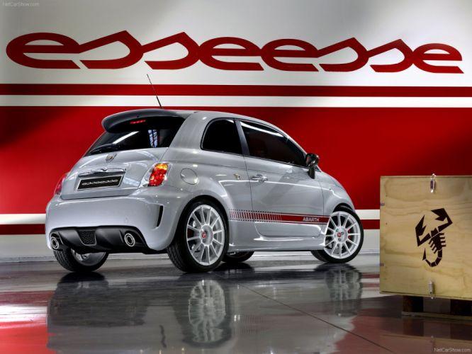 2009 500 Abarth esseesse Fiat cars wallpaper
