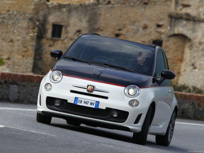 Fiat 500C Abarth cars 2011 wallpaper